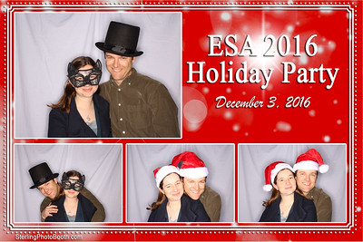 ESA Holiday Party