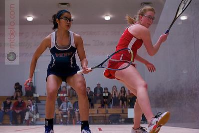 2013-02-15 Nabilla Ariffin (Penn) and Danielle Letourneau (Cornell)