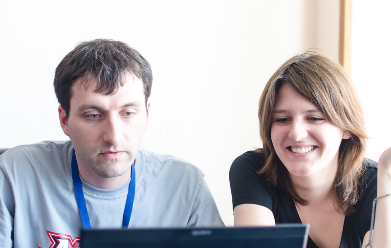 Евгений Тер-Авакян и Алена Гончарова на КРИ 2012