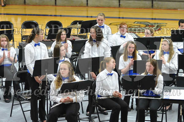 JH Band Spring Concert 05-01-13
