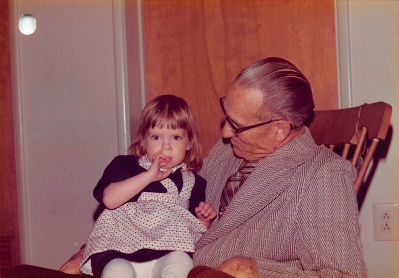 Feb '76. Annmarie, George