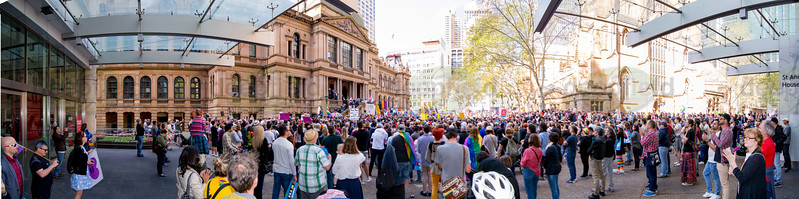 Yes Marriage Equality March 100917