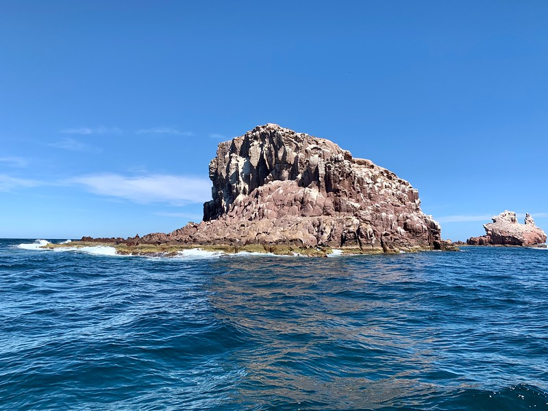 Island of Los Islotes - Swimming with the Sea Lions from La Paz Mexico