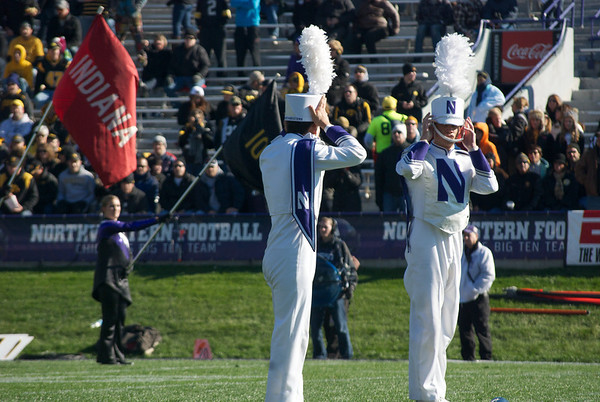 Northwestern vs. Iowa 2012