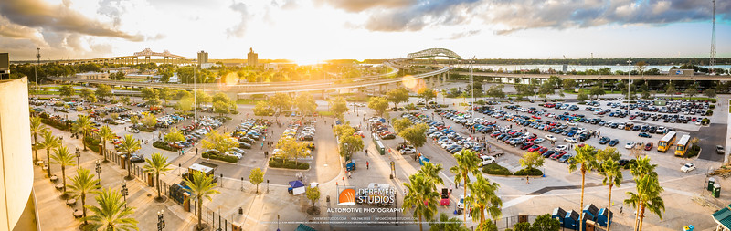 PANO 2017 10 Cars and Coffee - Everbank Field 114A - Deremer Studios LLC