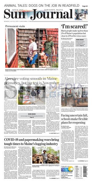 Sun Journal Page Reprints
