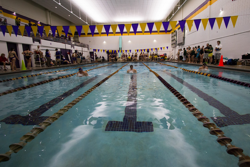 Men And Women Swimming at St. Michael's College 11/14/15