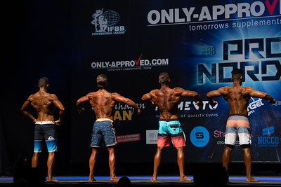 Pro Qualifier Mens Physique Over 177 and up to 179 cm