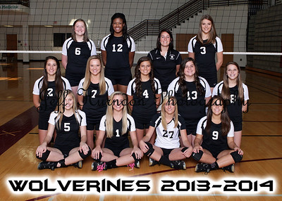 UGHS Volleyball T&I 2013