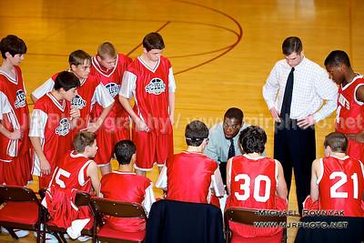 Chaminade VS St Johns #15, Boys Freshman Basketball 02.04.12