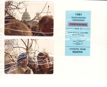 1981 - First Year in Washington, DC