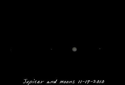 Night sky 11-17-2010