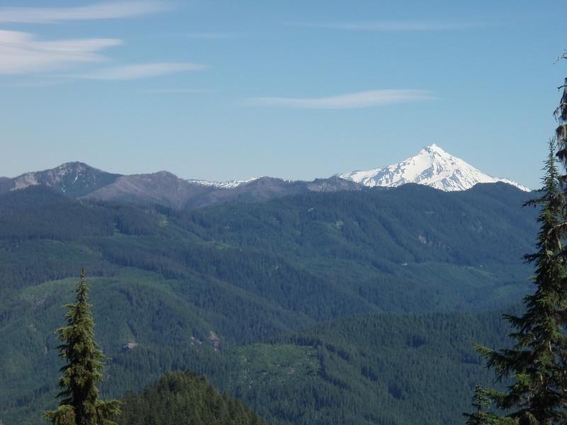 Mt Jefferson from Baty Butte viewpoint