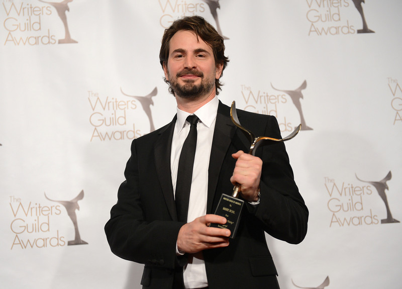 . Writer Mark Boal, winner of the Writers Guild Award for Best Original Screenplay poses in the press room during the 2013 WGAw Writers Guild Awards at JW Marriott Los Angeles at L.A. LIVE on February 17, 2013 in Los Angeles, California.  (Photo by Jason Kempin/Getty Images for WGAw)