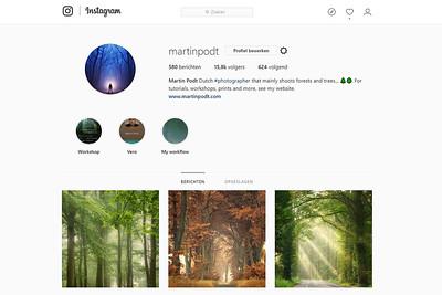 Upload photos to Instagram via a computer