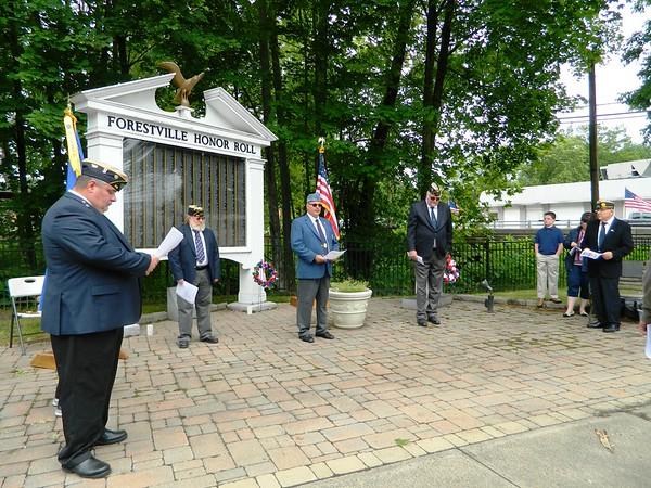 Forestville ceremony 053121