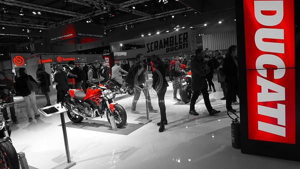 Milan Motorcycle Show 2015