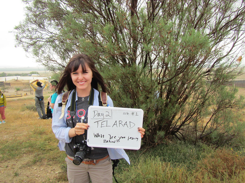 Day 2: Tel Arad - What are you leaving behind?