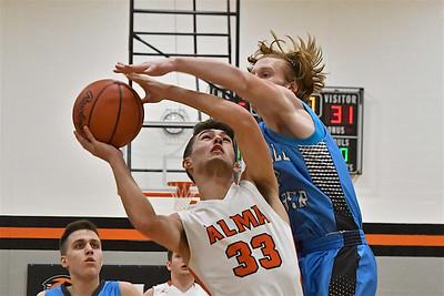 MS Alma vs Garber Boys Basketball