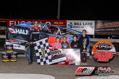 Fonda Speedway 5/15/21-Bill  McGaffin
