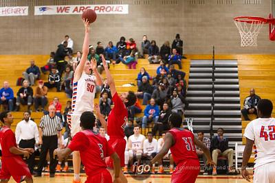 12-12-14 Minneapolis Washburn v Minneapolis Patrick Henry Basketball