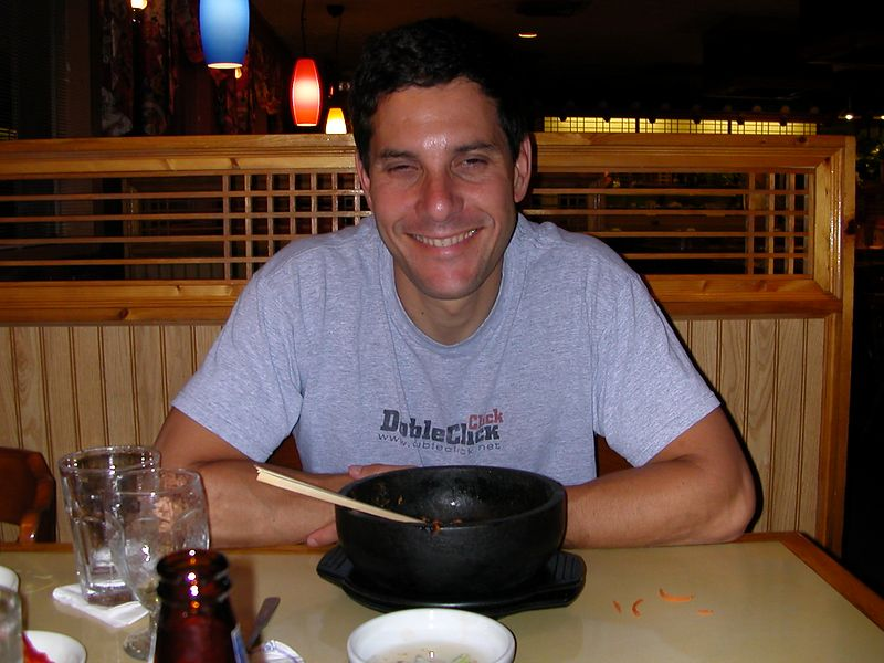 Nothing like a good Korean meal is there, Gary.  16 June 2004