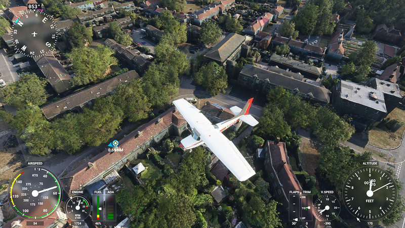 MSFS, Microsoft Flight Simulaor - Sat 22/08/2020@20:20