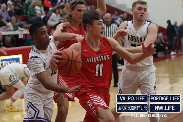 IHSAA Boys Basketball Sectionals Hobart vs. Kankakee Valley