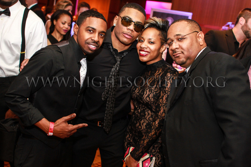 Nelly's 8th Annual Black And White Ball At the Four Seasons (Banquet & Ball Gallery 2) #NellyBWB 12-22-2013