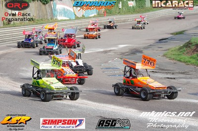 F2 Micro Stockcars, Birmingham I Factor, 7 Oct 2018