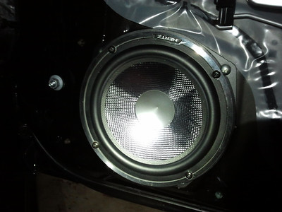 2008 Honda S2000 Club Racer Front Door Speaker Installation - USA
