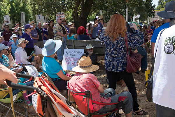 ACA Rally in Santa Rosa, Ca. July 29,2017