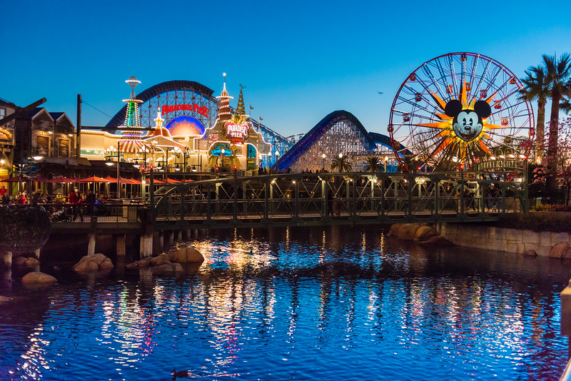 Disney California Adventure - Dusk