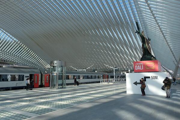 Liege Guillemins station