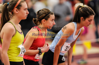 Girls' 3200 Meters, Heat 2 - 2014 MITS State Meet