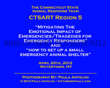 Trauma Training for the CTSART: Mitigating The Emotional Impact of Emergencies ~ Watertwon, CT ~ April 20, 2013