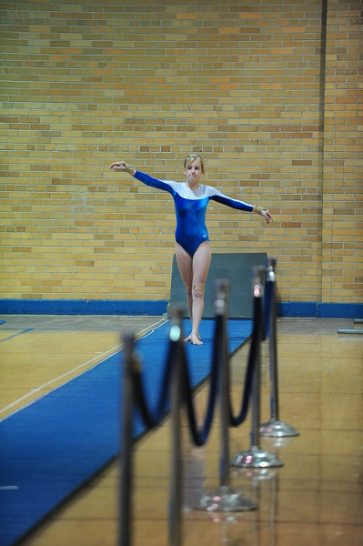 Gymnastics Adrian vs Lumen Christi Catholic  1/18/10