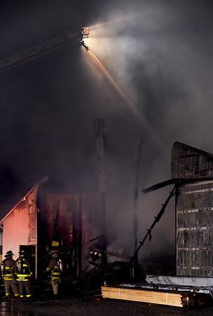 Fire at Carter Lumber