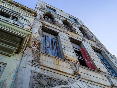 BUILDINGS in RUINS in HAVANA