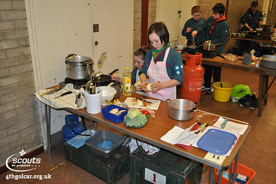 February - District Cooking Competition
