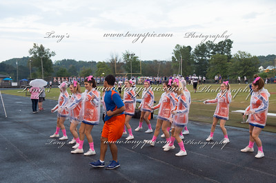 Cheerleaders @Gilmer Game 9 Oct 2015