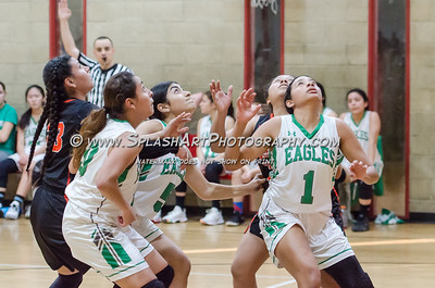 2019 Girls Basketball Eagle Rock vs Lincoln 30Jan2019