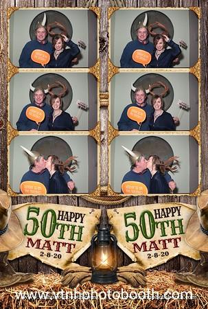 Photo Strips - 2/8/20 - Matt's Birthday