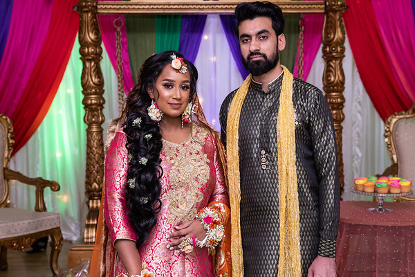Aneesa & Badar Mehndi
