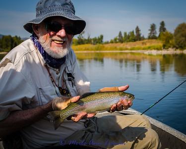 September day on the Clark Fork River 2014