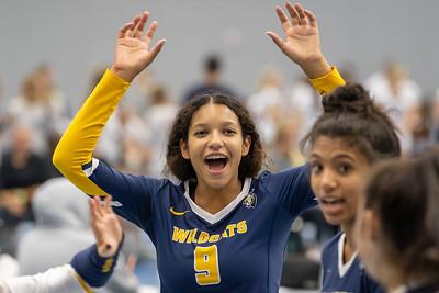 Varsity Volleyball at Mercy League 9/18/2021