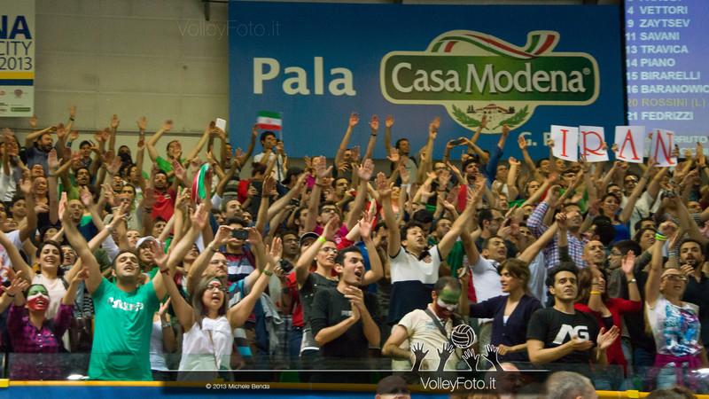 pubblico Iran - Italia-Iran, World League 2013 - Modena