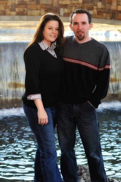 Terri and Jeromy engagement
