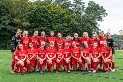 MHS Girls Soccer vs Woburn 14SEP21