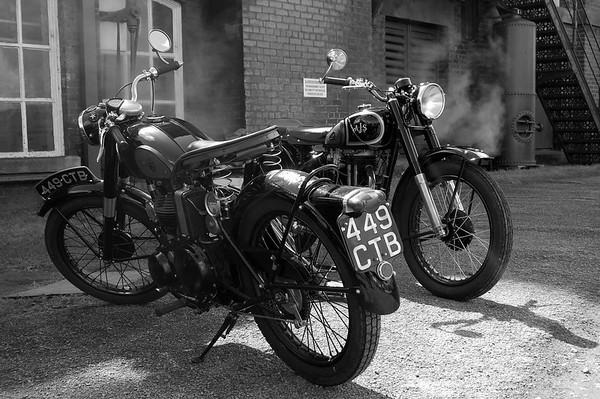 Ellenroad VMCC motorcycle show